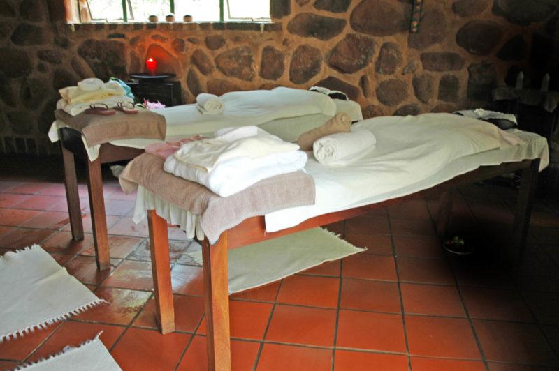 Klippenbosch Spa Interior Massage Spa Package Stones Room