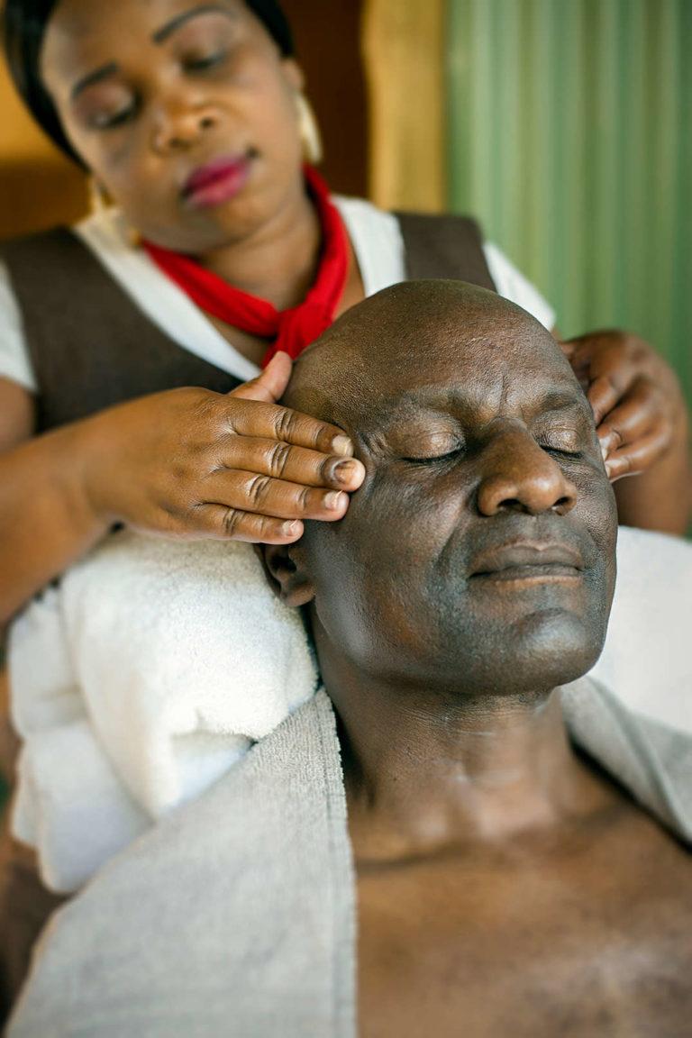 head and neck massage
